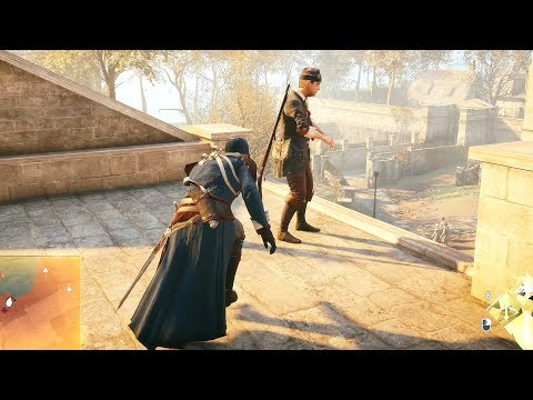 Assassin's Creed Unity Stealth Kills & Arno`s Master Outfit Ultra i7 8700k & GTX 1080TI