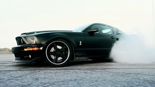 KEN BLOCK WHO: WRITING GYMKHANA MESSAGE WITH MUSTANG