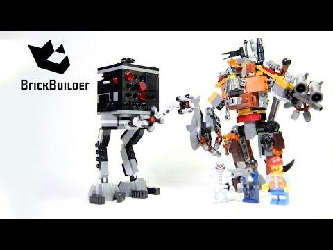 Vidéo LEGO The LEGO Movie 70807 : Le duel de barbe d'acier