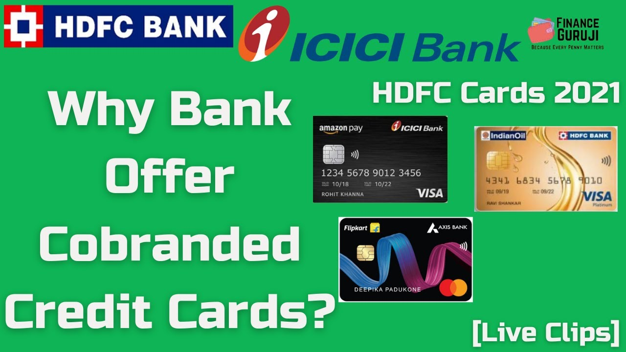 Why Bank Deal Cobranded Credit Cards? HDFC Credit Cards [Clips] thumbnail