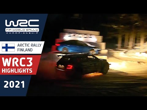 WRC3 2021 第2戦のラリーフィンランド 土曜日のハイライト動画