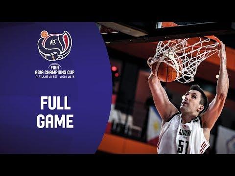 9ddec93e0c04 Alvark Tokyo v SK Knights - Full Game - Semi-Final - FIBA Asia Champions Cup  2018