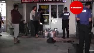 Konya'da tüp bomba gibi patladı, facianın eşiğinden dönüldü