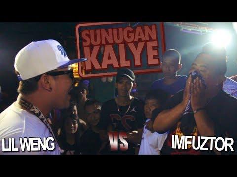 SUNUGAN KALYE - Lil Weng vs Imfuztor
