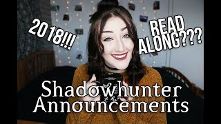 EXCITING ANNOUNCEMENTS FOR SHADOWHUNTER CHRONICLES FANS.