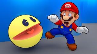 MARIO vs Pac-Man 3D