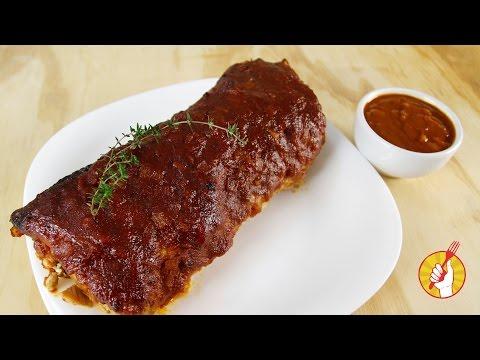Carne de Cerdo al Horno | Receta de Barbacoa ¡Súper Fácil! | Tenedor Libre