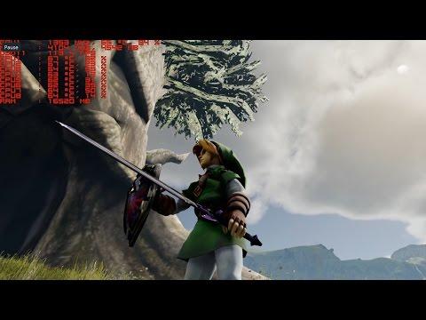 The Legend of Zelda Reimagined in Unreal Engine 4