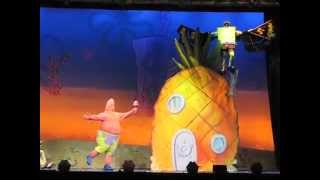 Spongebob Tries To Fly (Spongebob SquarePants LIVE! The Sponge Who Could Fly!)