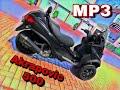 Piaggio MP3 500 Sport Akrapovic Auspuff