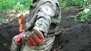 Раскопки немецких солдат в Маяцком лесу