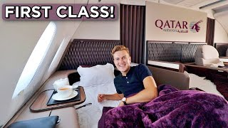 Qatar Airways A380 First Class Review   FINALLY!!!