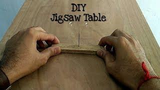 How To Make Jigsaw Table Machine    DIY Jigsaw Table