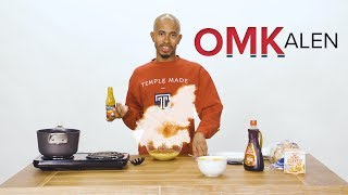 'OMKalen': Kalen Reacts and Recreates Struggle Meal Recipes