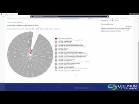 Exam Simulator Tutorial for Solomon Exam Prep - YouTube
