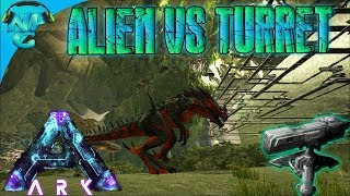 Max Level Reaper King VS 100 Heavy Turrets 💥 ARK Science Evolved Aberration
