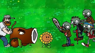 Dhannu's PLANTS vs ZOMBIES - Episode 20 - Zombies Attack Part III Animation!