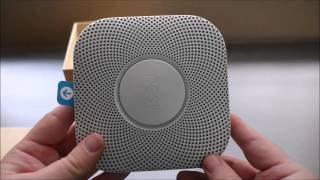 Nest Protect 2nd Gen Smoke + Carbon Monoxide Alarm SETUP & REVIEW
