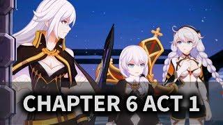 [Honkai Impact 3] Story Chapter 6 Act 1 Normal (Gameplay #41)