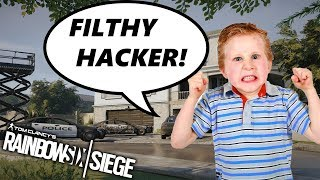 (1v5) Kid *ACCUSES ME OF HACKING!* w/ Facecam - Rainbow Six Siege || Custom Game