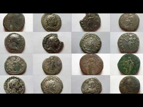 Römische Münzen - Teil 1/2