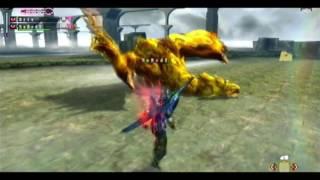 |MH3U| ┌G★★★┘ Gold Rathian 2p [2.55|Kill] (2 LS)