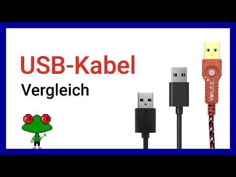 USB Kabel Vergleich - EasyAcc, Anker, Volutz - (Deutsch)