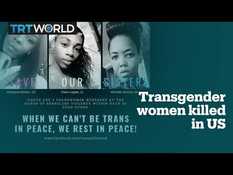 Three black transgender women were shot dead in the US in just one week