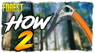 The Forest | HOW TO FIND THE CLIMBING AXE | Updated Location