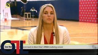 Elena Delle Donne: NBA and Adam Silver don't give proper support to WNBA   Outside the Lines   ESPN