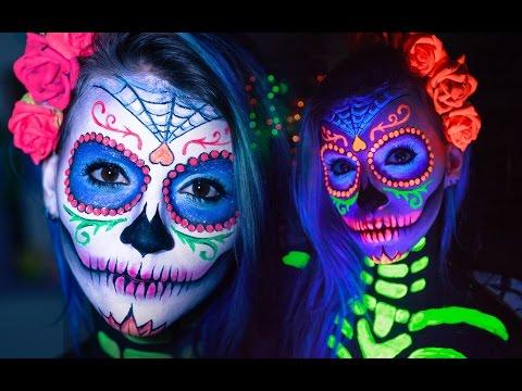 Tinta L 237 Quida Fluorescente 6 Cores C 237 Tricas Neon Facial