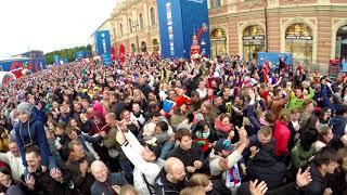Испания-Россия серия пенальти ЧМ 2018 Санкт-Петербург