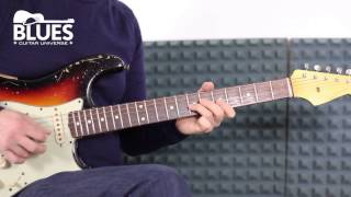 Blues Guitar Lesson - Buddy Guy Style Solo