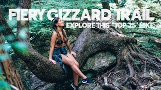 EXPERIENCE One Of The Nations BEST HIKES | Fiery Gizzard Trail | Skoolie Couple