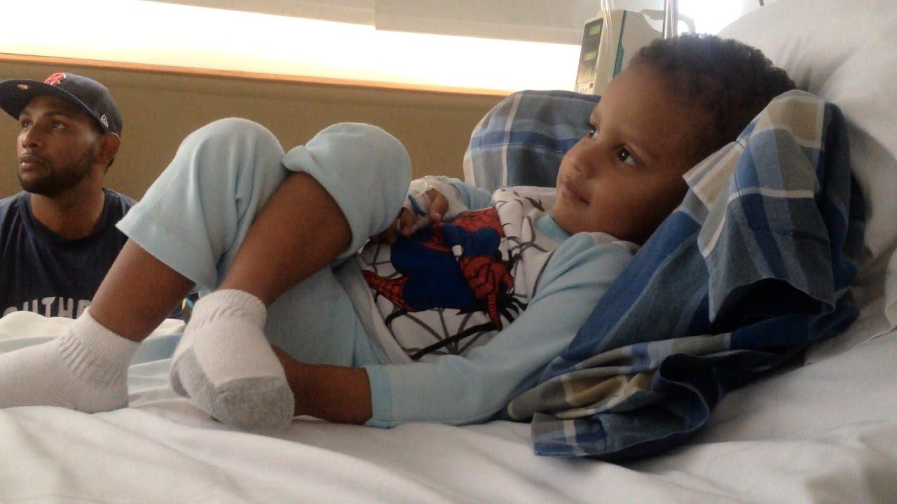 Con dos años un bebé sobrevive a una herida de bala y a la crisis hospitalaria en Venezuela