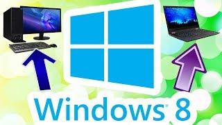 Установка Windows 8.0 на современный компьютер и ноутбук