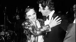 """Charles Aznavour """"I want to be kissed"""" (Aznavour/ Bécaud) 1957"""