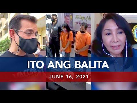 [UNTV]  UNTV: ITO ANG BALITA | June 16, 2021