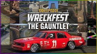 THE GAUNTLET: ALL STAR TRACK CHALLENGE   Wreckfest - 100th Episode
