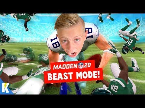 BEAST MODE in Madden NFL 20 Franchise Mode Week 6! KIDCITY GAMING