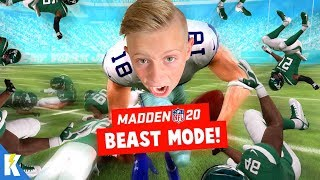 BEAST MODE in Madden NFL 20 Franchise Mode Week 6! KIDCITY GAMING