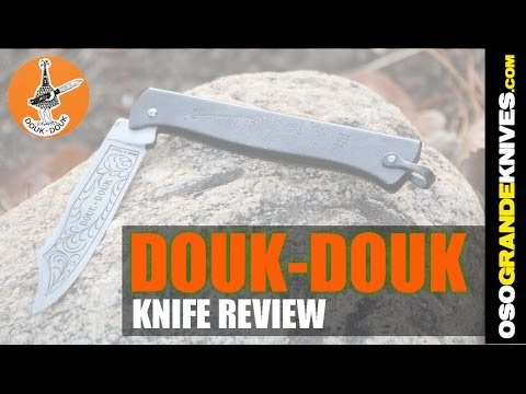 Douk Douk Model 815 Folding Knife Review | OsoGrandeKnives