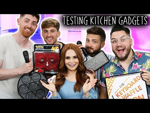 TESTING 3 GEEKY KITCHEN GADGETS… Are They Worth It? ft SORTEDfood