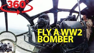 Iconic flight on one of the last surviving WWII B-29 Superfortress bombers in VR