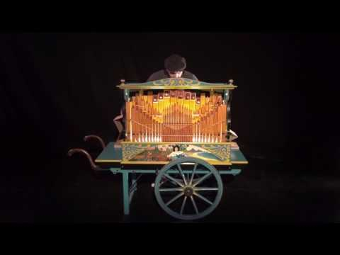 Star Wars - Cantina Band - Orgue de barbarie - John Williams - Carton Compagnie