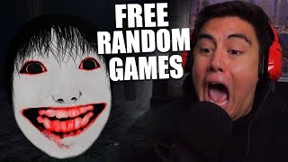 JAPANESE HORROR GAMES GIVE ME THE GIRLY MAN SCREAMS | Free Random Games