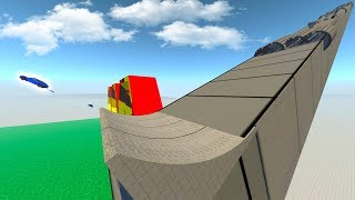 BeamNG Drive - BeamNG Car Games! - Crazy Vehicle Minigames - BeamNG Drive Gameplay Highlights