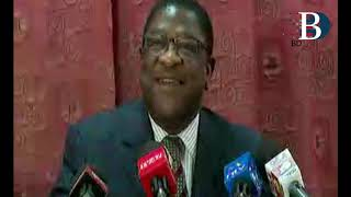 Former Attorney General, Amos Wako, addressed the nation on being