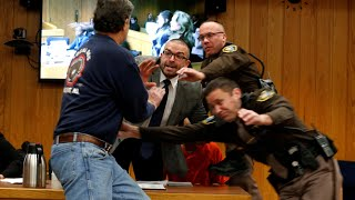 Larry Nassar: Victim's Father Attempts Attack In Court