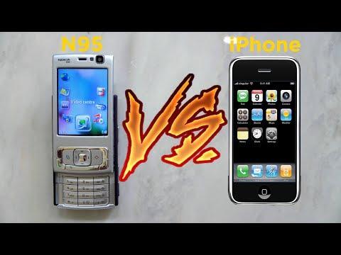 Nokia N95 in 2019: Apple vs Nokia